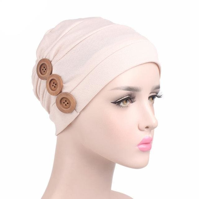 Turban Drag Garage (6 Colors) Beige Turban