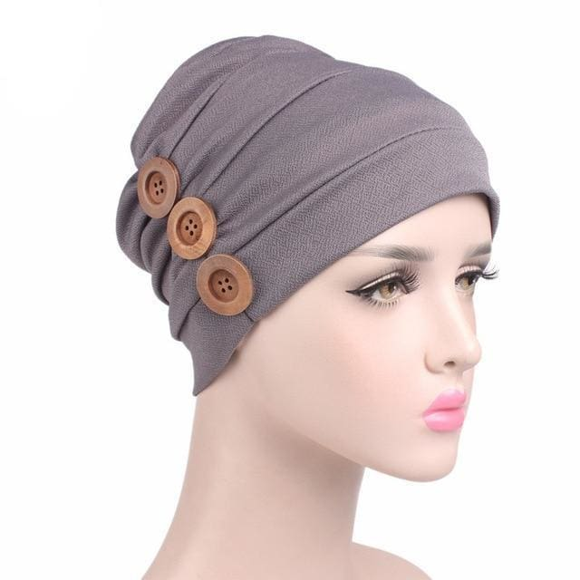 Turban Drag Garage (6 Colors) Gray Turban