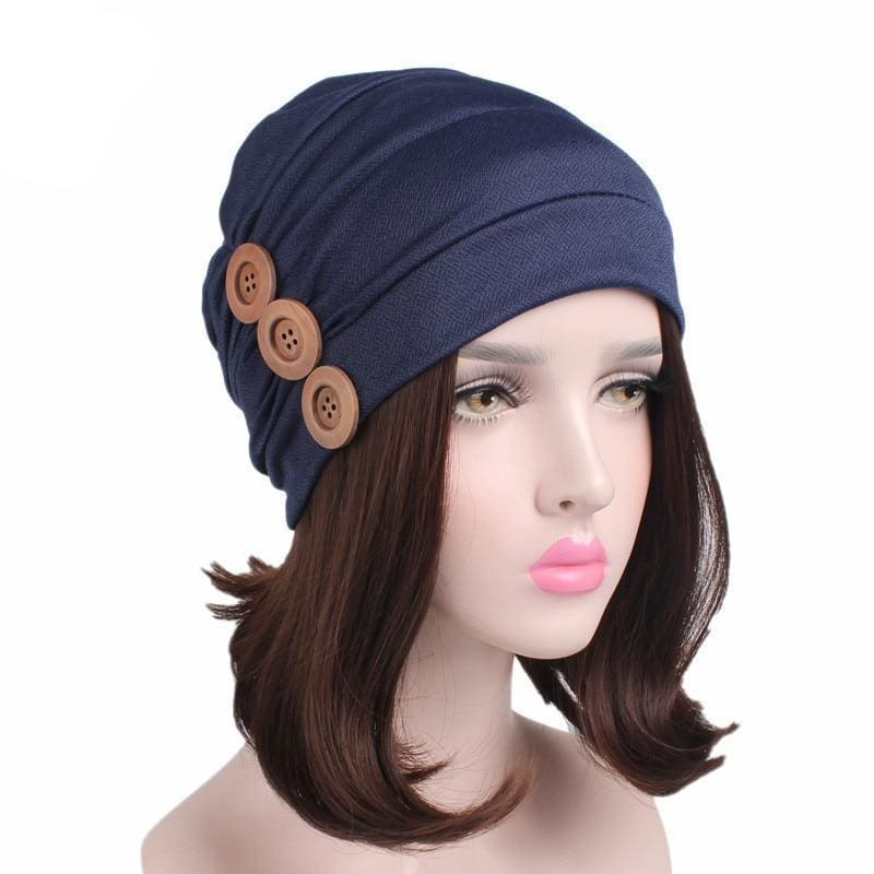 Turban Drag Garage (6 Colors) Navy Turban