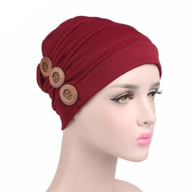 Turban Drag Garage (6 Colors) Wine Turban