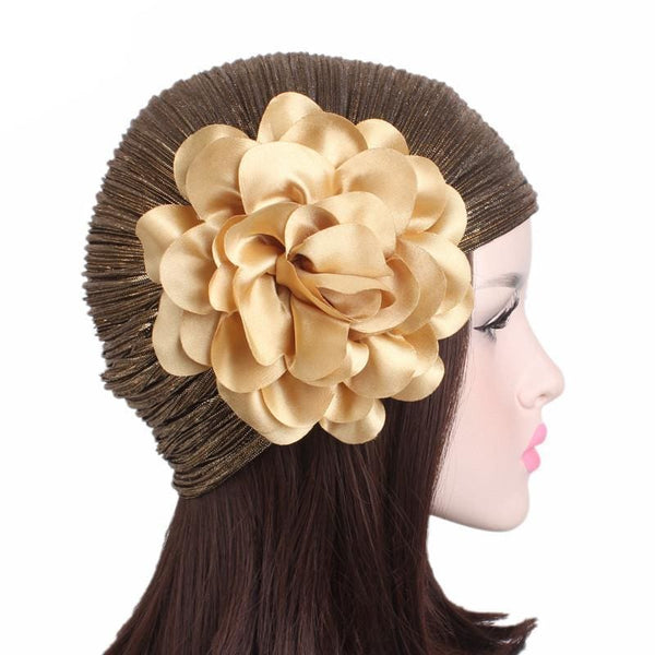Turban Drag Jazz (Gold or Black) Turban