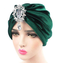Load image into Gallery viewer, Turban Drag Knowles (Multiple Colors) Green Turban