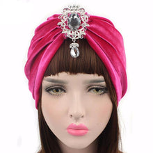 Load image into Gallery viewer, Turban Drag Knowles (Multiple Colors) Hot pink Turban