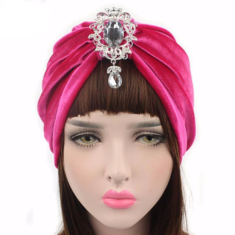 Turban Drag Knowles (Multiple Colors) Hot pink Turban