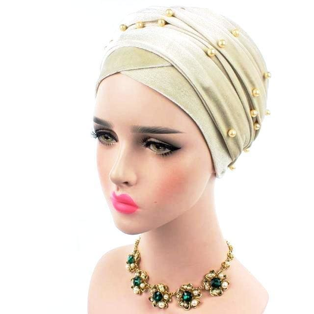 Turban Drag Salazar (Multiple Colors) Beige Turban