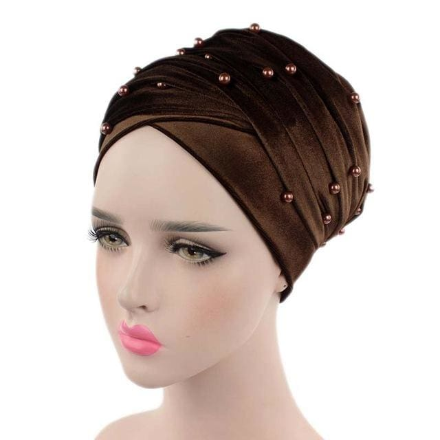 Turban Drag Salazar (Multiple Colors) Brown Turban
