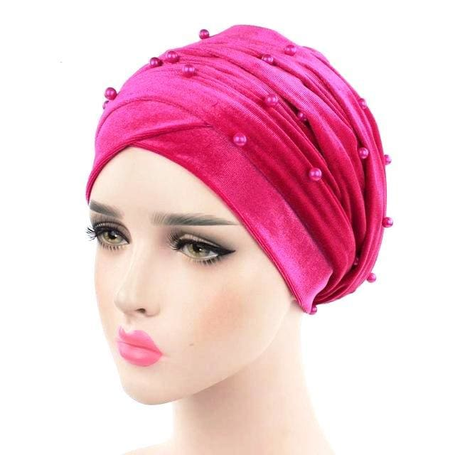 Turban Drag Salazar (Multiple Colors) Fuchsia Turban