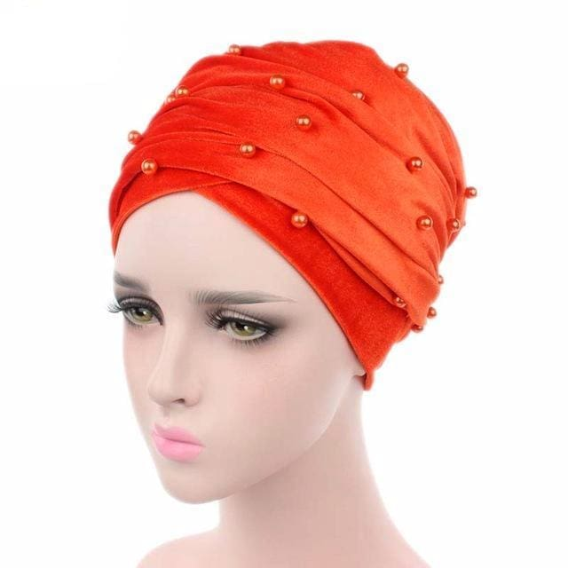 Turban Drag Salazar (Multiple Colors) Orange Turban
