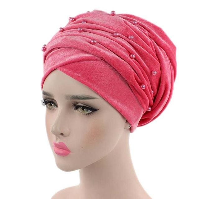 Turban Drag Salazar (Multiple Colors) Peach Pink Turban