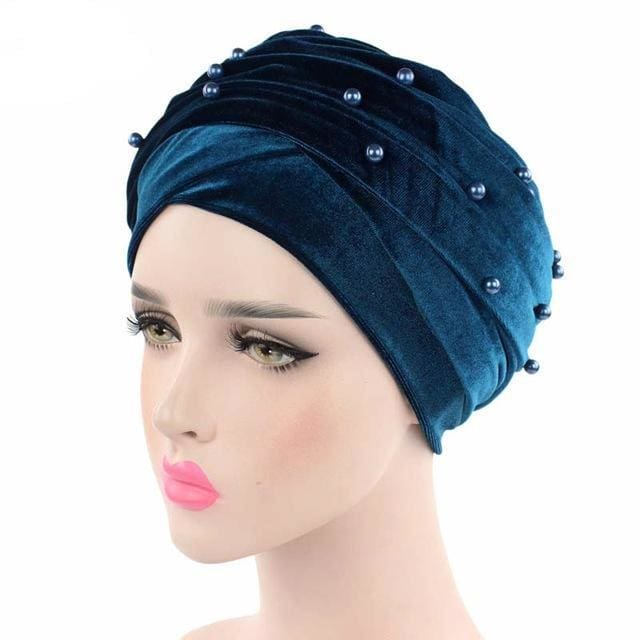 Turban Drag Salazar (Multiple Colors) Teal Turban