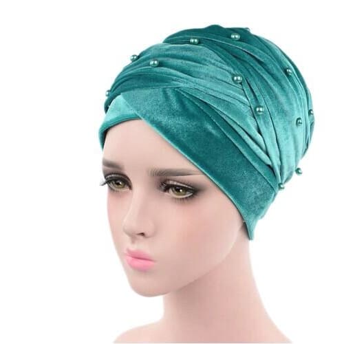 Turban Drag Salazar (Multiple Colors) Turquoise Turban