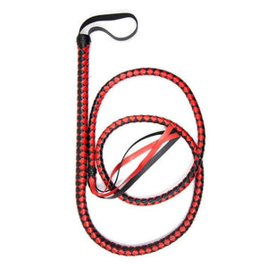 Whip Drag Rider (5 Colors) Black and Red Whip