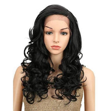 Load image into Gallery viewer, Wig Queen Crest (3 Colors) Black Wig