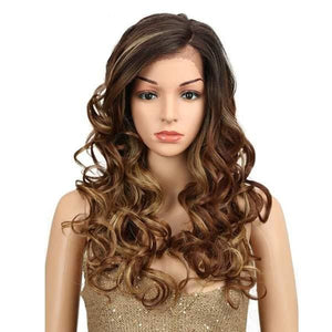 Wig Queen Crest (3 Colors) Brown Wig