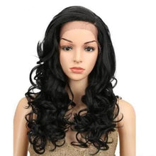 Load image into Gallery viewer, Wig Queen Lucrezia Black / 22inches Wig