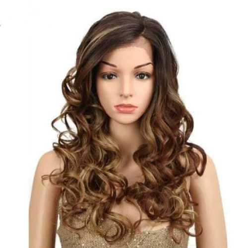 Wig Queen Lucrezia Brown / 22inches Wig