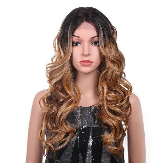 Wig Queen Palm (2 Colors) Brown Wig