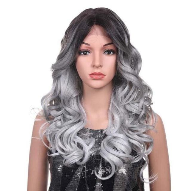 Wig Queen Palm (2 Colors) Silver Wig