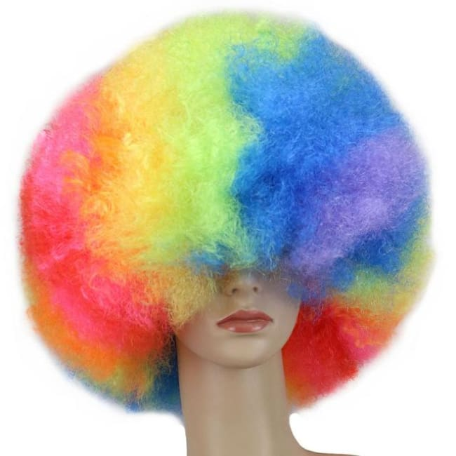 Wig Queen Pride (12 Variants) Rainbow Wig