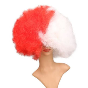 Wig Queen Pride (12 Variants) Red White Wig