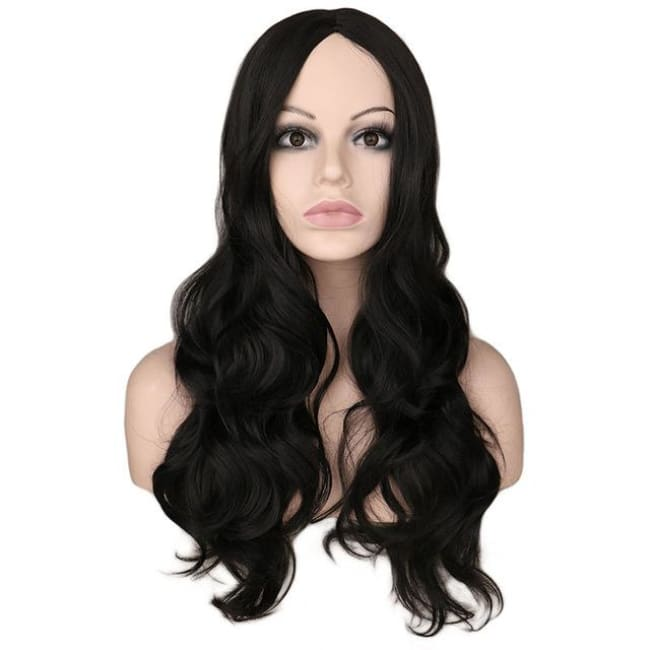Wig Queen Roxanne Black / 26 inches Wig