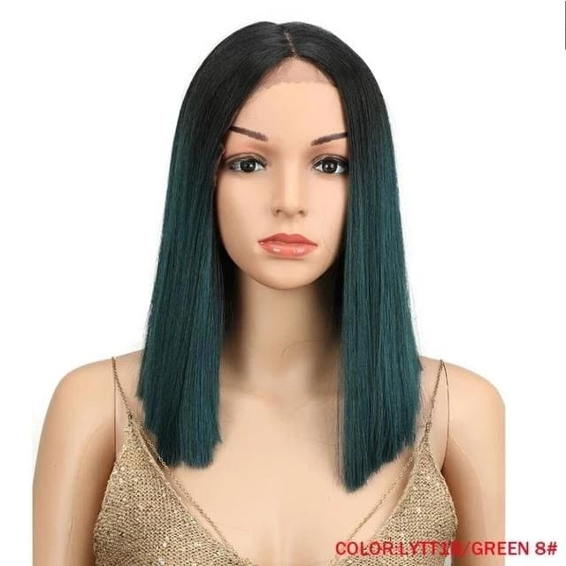 Wig Queen Saturn (5 Colors) LYTT1BGREEN-8 / 14inches Wig