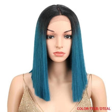 Load image into Gallery viewer, Wig Queen Saturn (5 Colors) TT1B-DTEAL / 14inches Wig