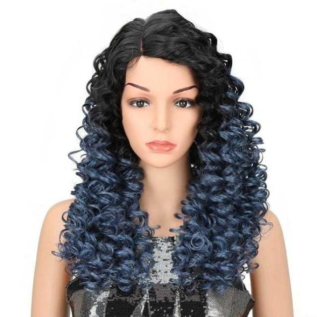 Wig Queen Sioban (4 Colors) Blue Wig