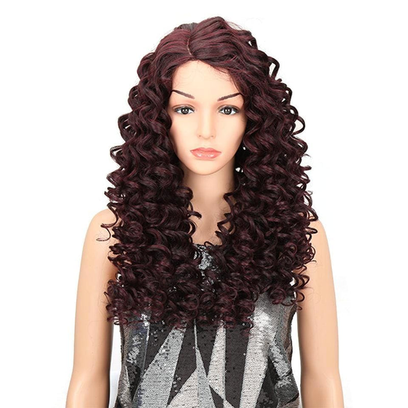 Wig Queen Sioban (4 Colors) Brown Wig