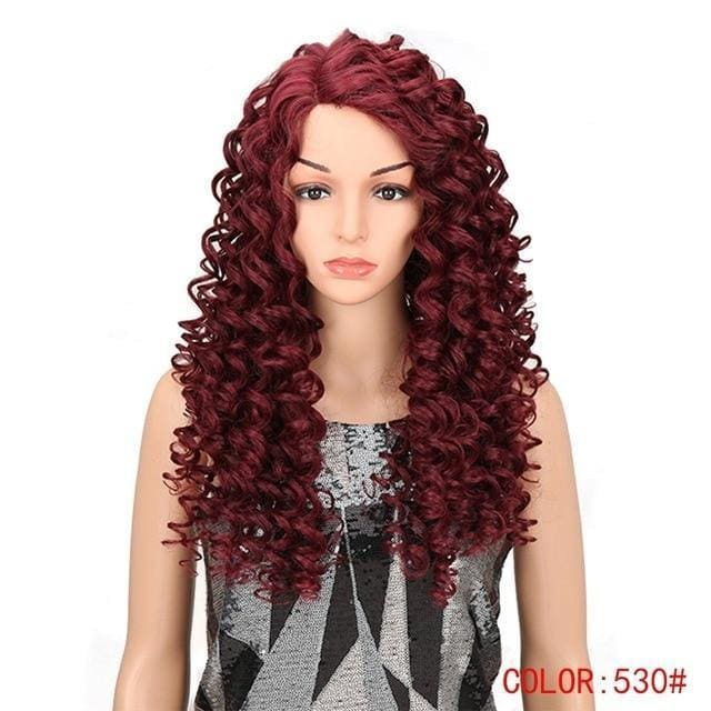 Wig Queen Sioban (4 Colors) Red Wig