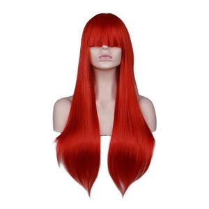 Wig Queen Sumatra (6 Colors) Red / 26 inches Wig