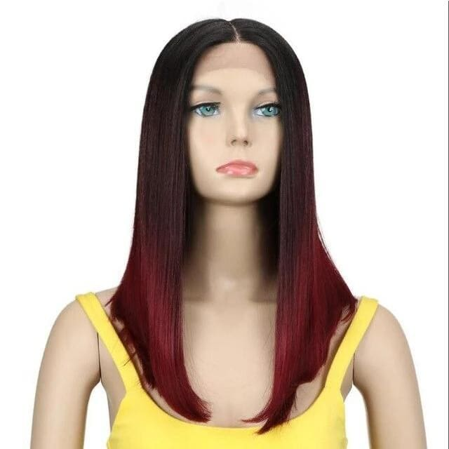 Wig Queen Summer (3 Colors) Ombre Red Wig