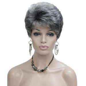 Wig Queen Taylor (4 Colors) Gray / 6 inches Wig