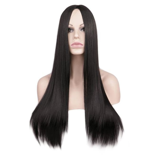 Wig Queen Wiebke (6 Colors) Black / 26 inches Wig