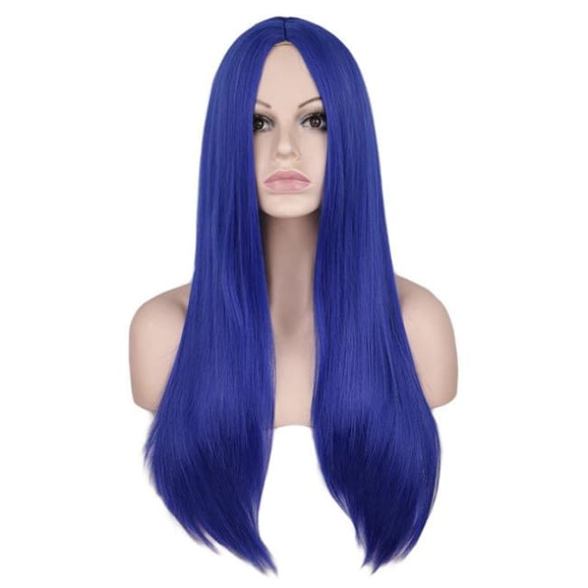 Wig Queen Wiebke (6 Colors) Blue / 26 inches Wig