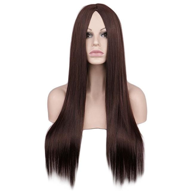 Wig Queen Wiebke (6 Colors) Dark Brown / 26 inches Wig