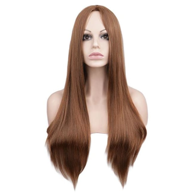 Wig Queen Wiebke (6 Colors) Light Brown / 26 inches Wig