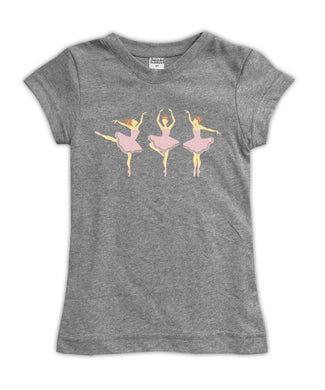'Light Skin Ballerinas' Fitted Tee
