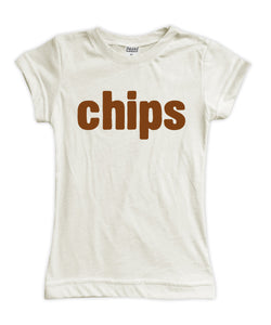 'Chips' BFF & Siblings Fitted Tee