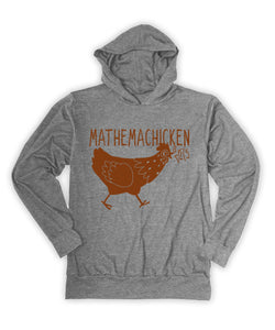 Heather Gray Mathemachicken Hoodie