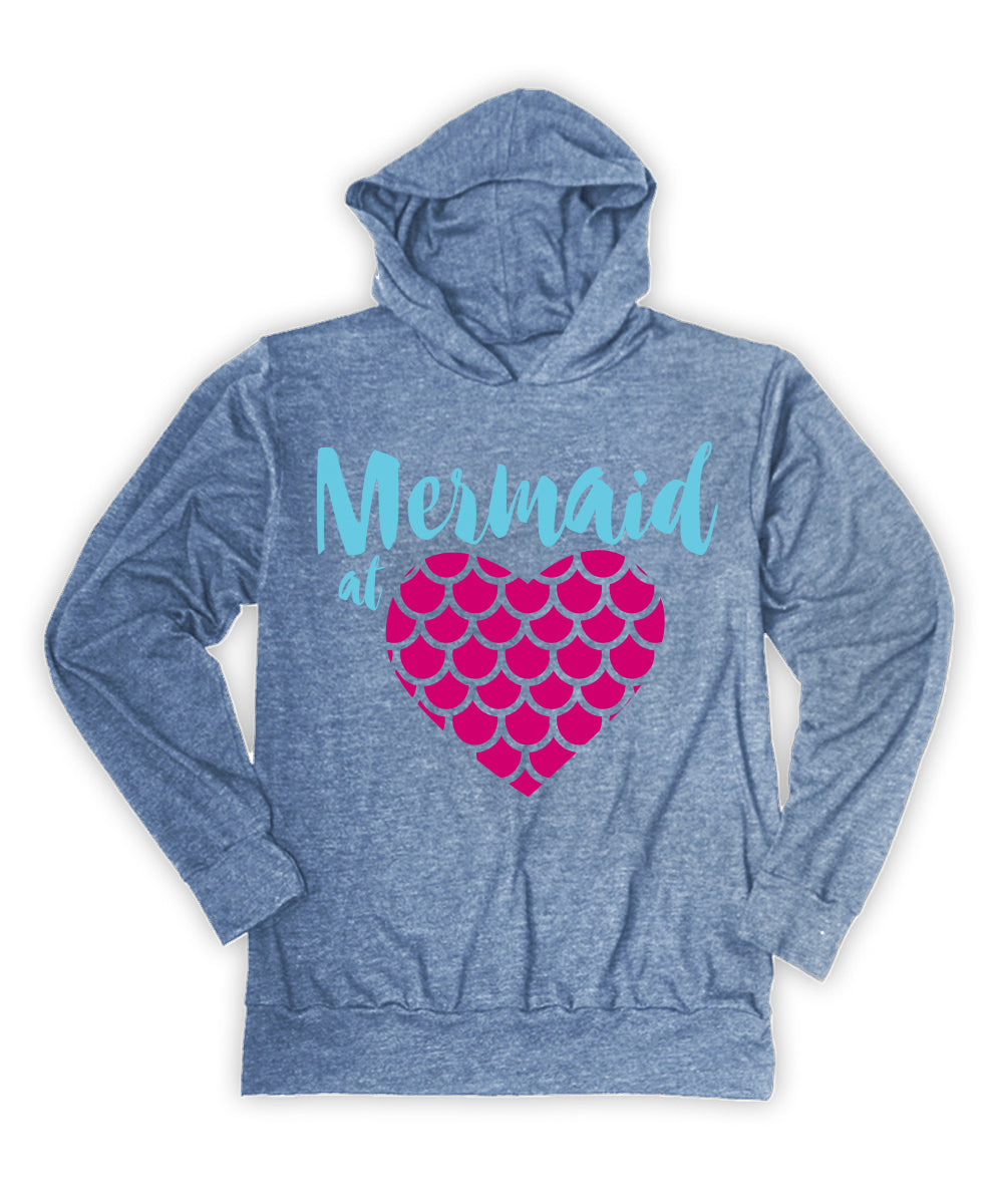 'Mermaid at Heart' Hoodie