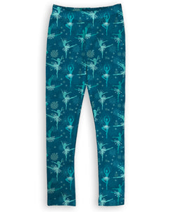 'Snowflake Ballerinas' Toastie Leggings