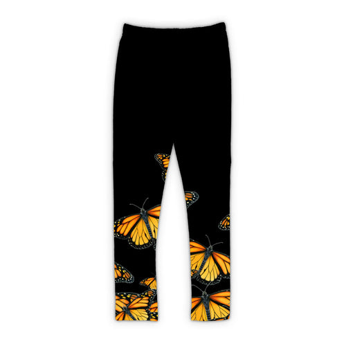 Black Monarch Leggings