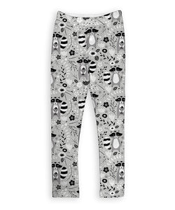 Gray Raccoons Leggings