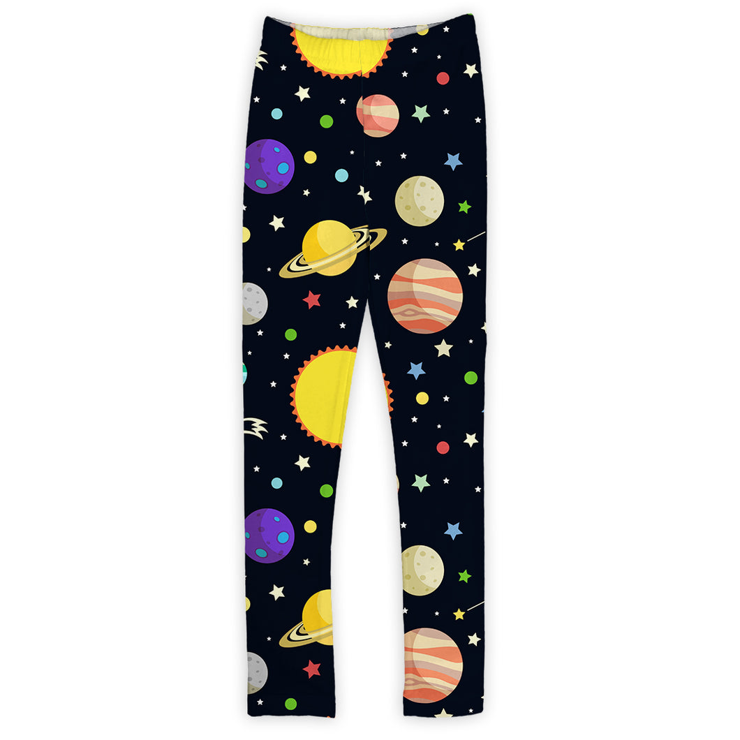 Black Planetary Leggings