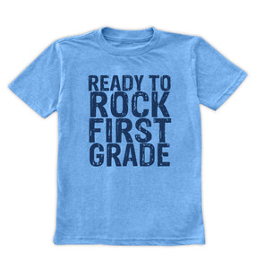'Ready to Rock First Grade' Tee