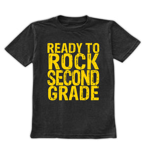 'Ready to Rock Second Grade' Tee