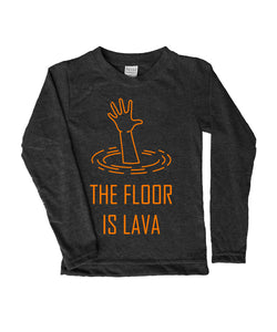 The Floor is Lava Long-Sleeve Tee