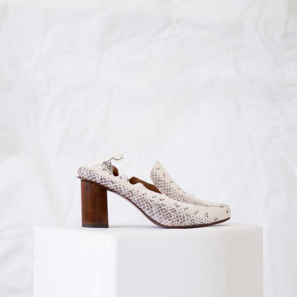 Doheny Loafer<span>Natural Matte Snakeskin</span>
