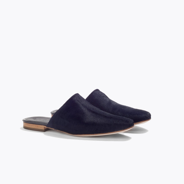 Malibu Mule <span>Navy Blue Haircalf</span>